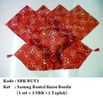 sarung bantal kursi BUT1Pemesanan hub: ibu Shirlein: 0898-390-3999, Pin BB: By request