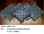 sarung bantal kursi CTDPemesanan hub: ibu Shirlein: 0898-390-3999, Pin BB: By request