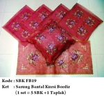 sarung bantal kursi fb19Pemesanan hub: ibu Shirlein: 0898-390-3999, Pin BB: By request