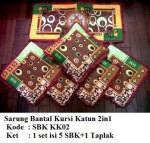 sarung bantal kursi kk02Pemesanan hub: ibu Shirlein: 0898-390-3999, Pin BB: By request