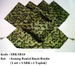 sarung bantal kursi sb10Pemesanan hub: ibu Shirlein: 0898-390-3999, Pin BB: By request