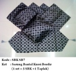 sarung bantal kursi sb7Pemesanan hub: ibu Shirlein: 0898-390-3999, Pin BB: By request