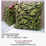 sarung bantal sofa hijau SBK_PR12