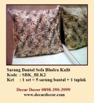 sarung bantal sofa SBK_BLK2