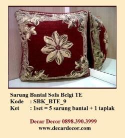 sarung bantal sofa SBK_BTE9