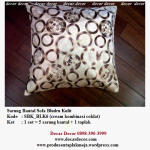 sarung bantal sofa set SBK_BLK6