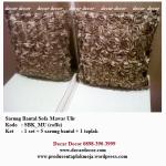 sarung bantal sofa timbul SBK_MU (coffe)