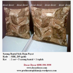 sarung bantal sofa warna gold SBK_DP (gold)