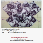 sarung bantal sofa warna ungu SBK_BM (purple)
