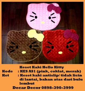 jual keset hello kitty