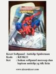 keset spiderman keset karakter antislip KESK11