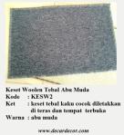 keset tebal woolen KESW2