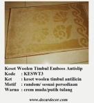 keset woolen emboss KESWT3