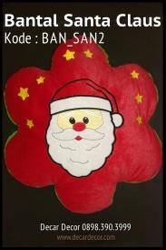 Bantal natal santa claus BAN_SAN2