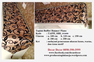 taplak piano buffet TAPPI_SBB_cream