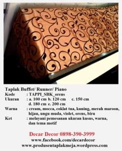 taplak piano buffet TAPPI_SBK_orens