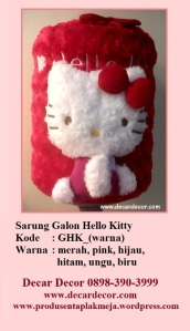 galon hello kitty GHK