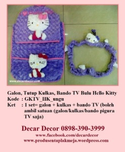 galon taplak kulkas hello kitty GKTV_HK_ungu