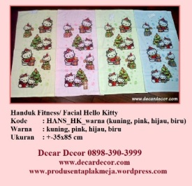 handuk hello kitty HANS_HK