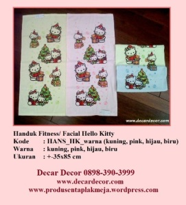 handuk hello kitty HANS_HK_