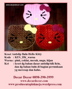 keset hello kitty KESB_HK