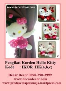 pengikat korden hello kitty IKOR_HK