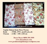 Taplak makan kain 8 kursi TMK_FW