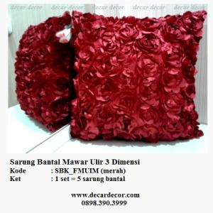 sarung bantal sofa imlek SBK_MUIM merah