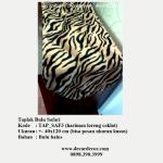 taplak motif animal print, taplak motif harimau, TAP_SAF3 harimau