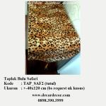 taplak motif animal print, taplak motif macan tutul, TAP_SAF2 tutul